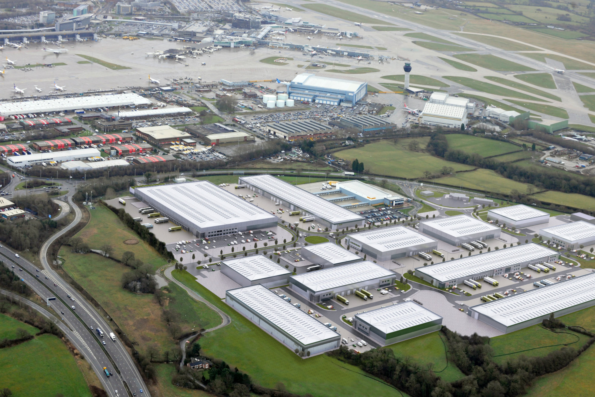 Planning Permission Secured For 130 000 Sq Ft Logistics