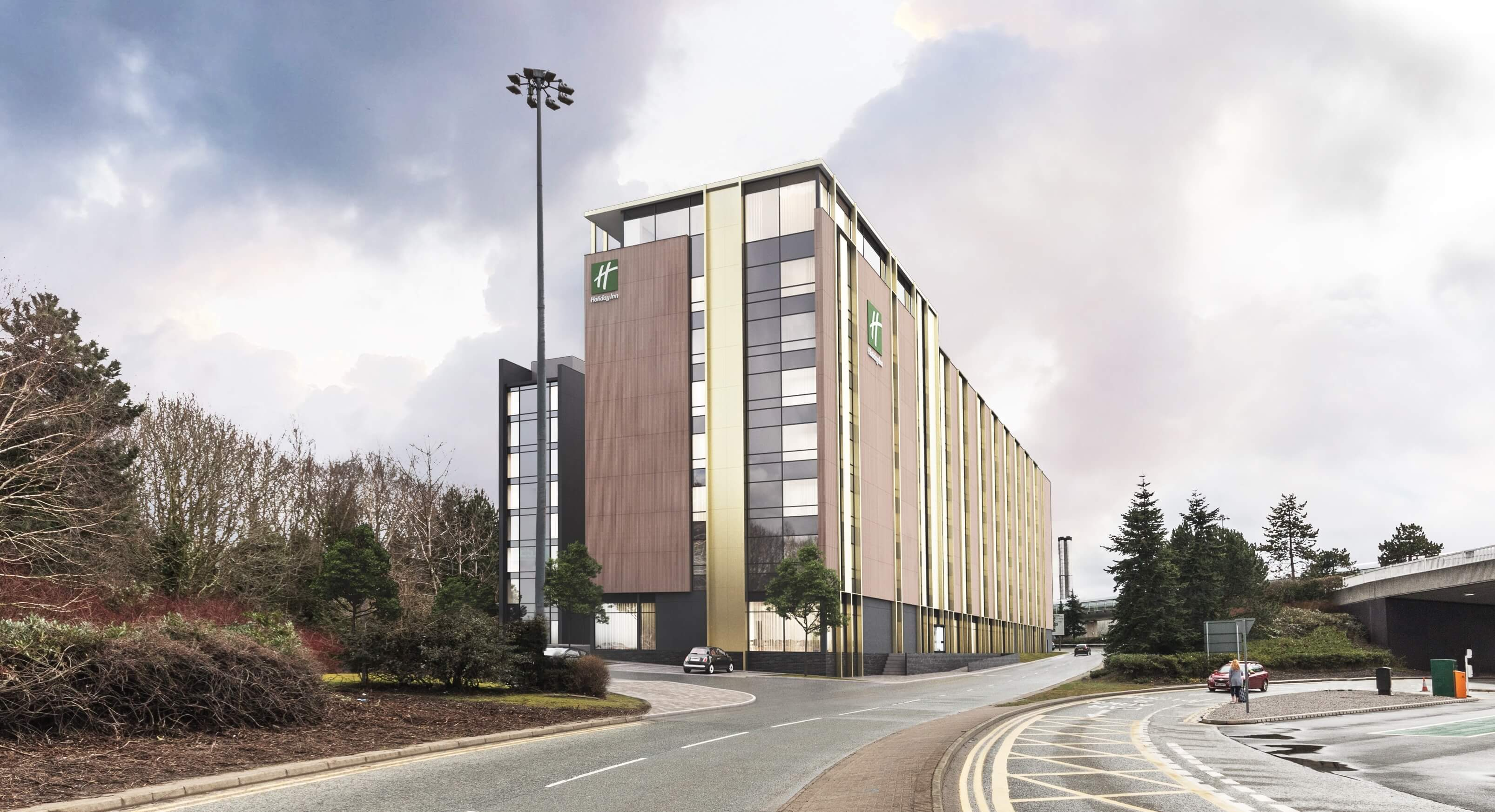 Planning approval for new 280-bed Holiday Inn and 262-bed