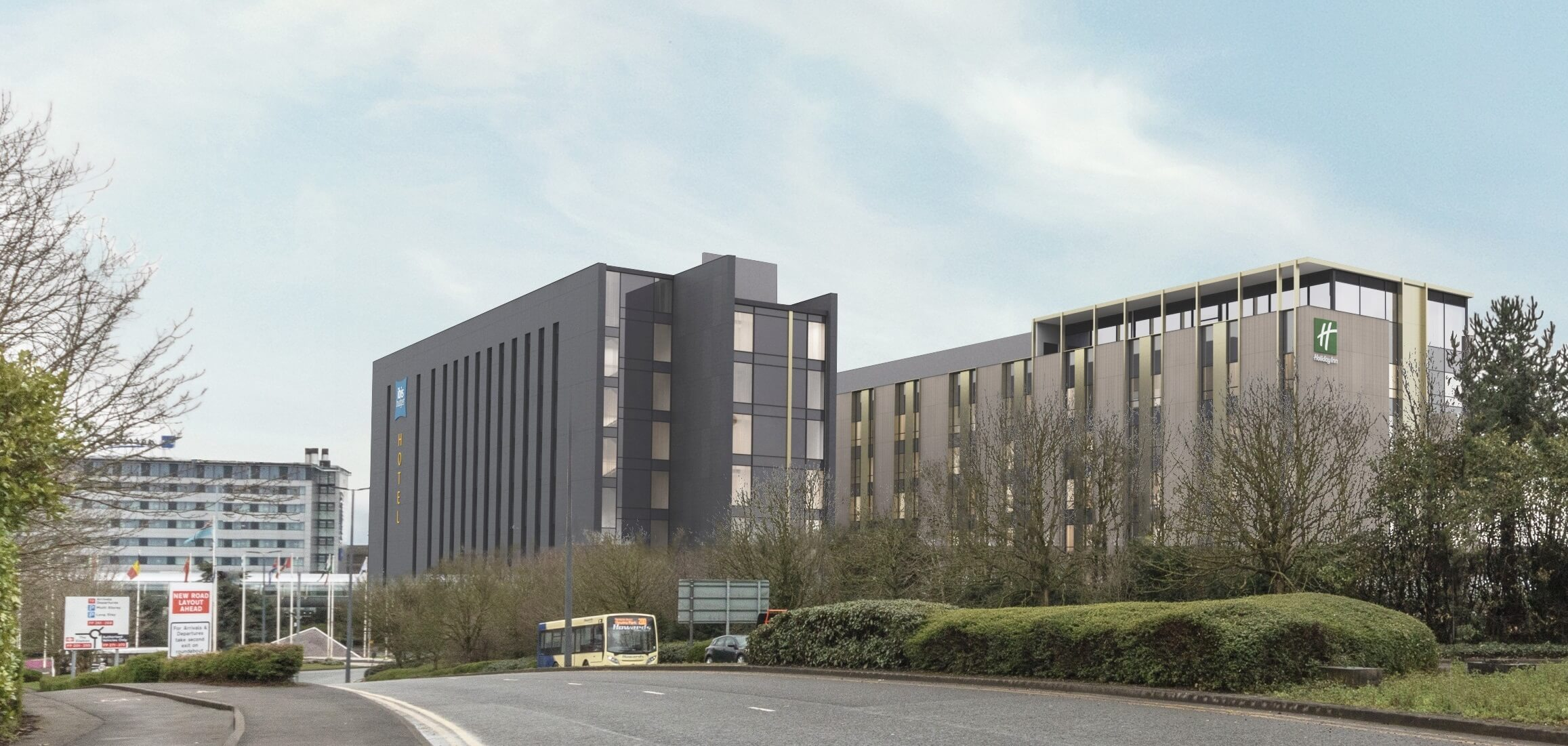 Planning Approval For New 280 Bed Holiday Inn And 262 Bed Ibis