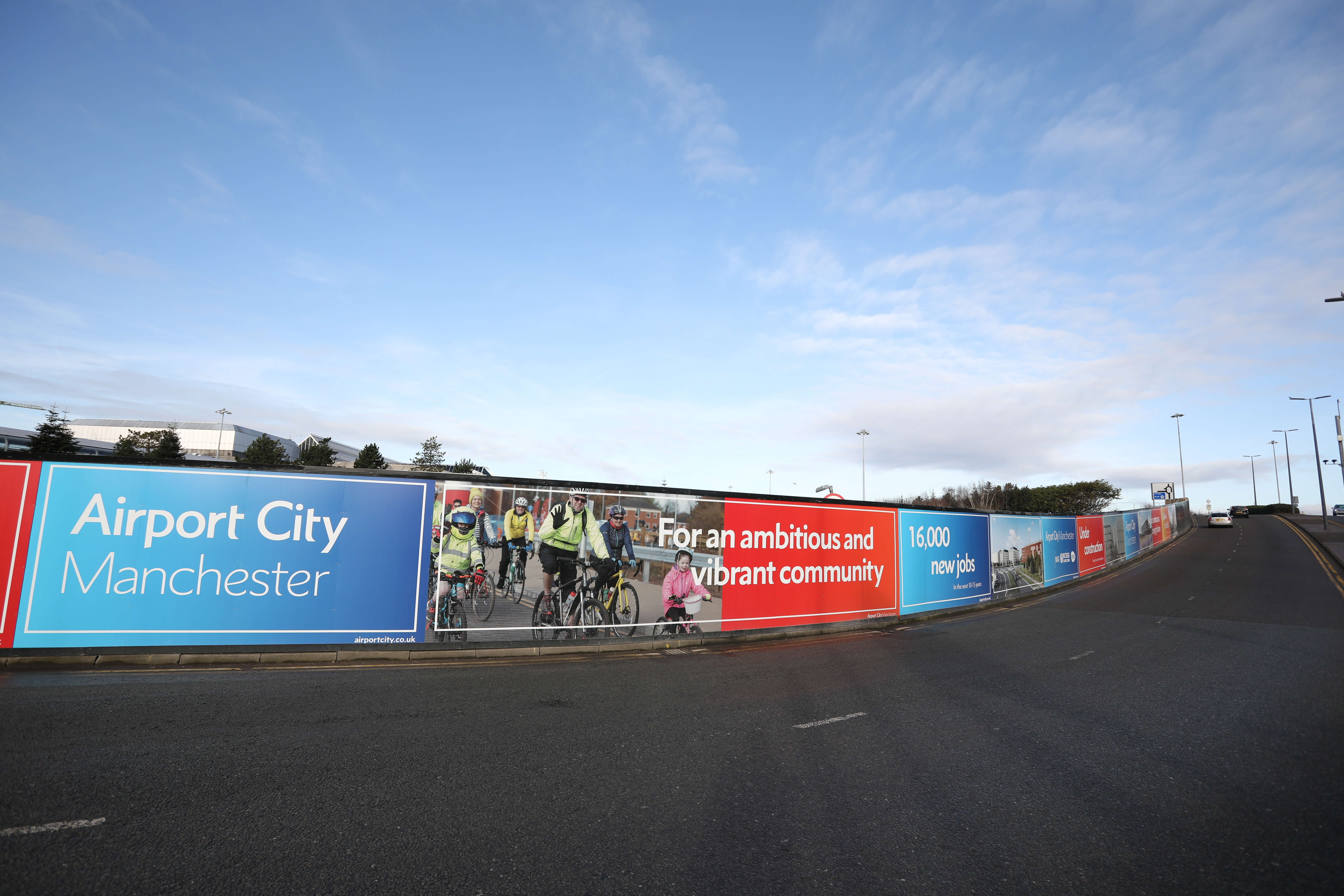 Hoardings Erected At Airport City As Site Prep Begins For